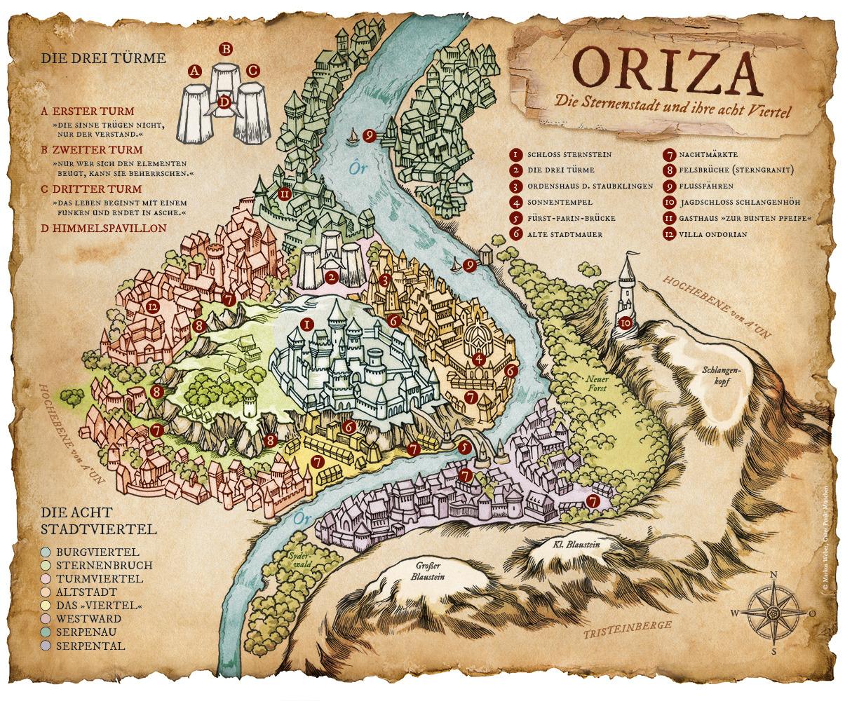 fantasy karte Wie entsteht eine Fantasy Karte? | Guter Punkt