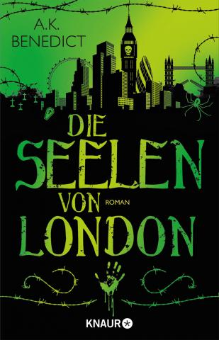 Coverdesign: A. K. Benedict, Die Seelen von London