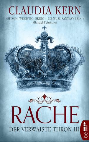 Coverdesign: Claudia Kern, Rache (Der verwaiste Thron 3)