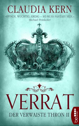 Coverdesign: Claudia Kern, Verrat (Der verwaiste Thron 2)