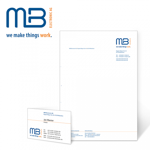 Corporate Design: MB Electronic