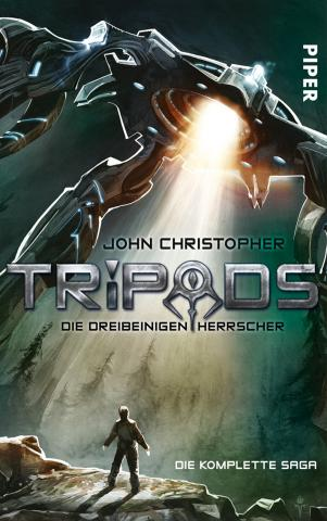 Coverdesign: John Christopher, Tripods