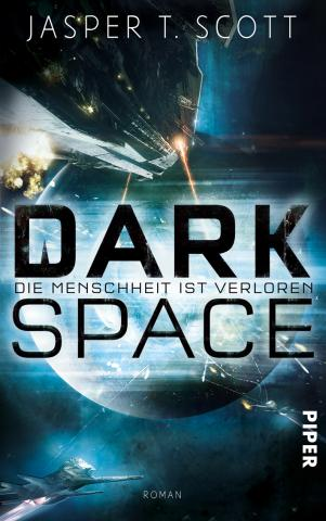 Coverdesign: Jasper T. Scott, Dark Space
