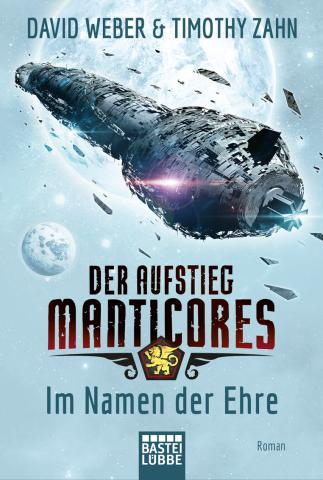 Coverdesign: David Weber/Timothy Zahn, Der Aufstieg Manticores